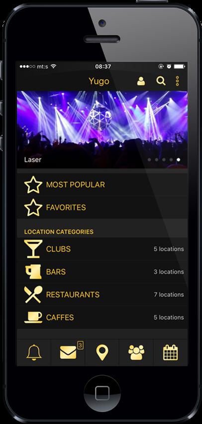 Mobile Application Yugo